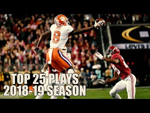College Football Top 25 Plays 2018-19 Season ᴴᴰ