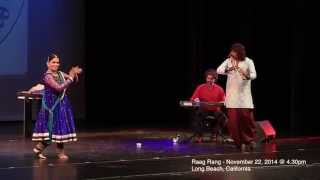 Raag Rang - A masterpiece fusion music and Kathak by Pravin Godkhindi  and Nirmala Madhava