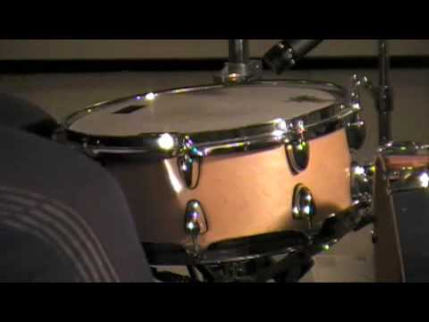 groove percussion snare drum youtube. Black Bedroom Furniture Sets. Home Design Ideas