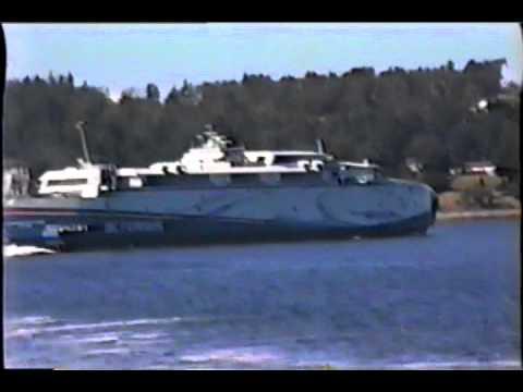 BC Ferries  Pacificat Explorer  Fast Cat Nanaimo  Vancouver Island British Columbia