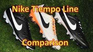 Nike Tiempo Line Comparison - Legend 5 vs Legacy vs Genio