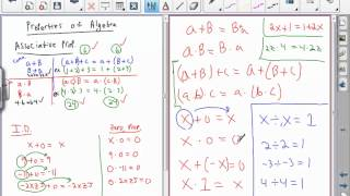 Old Algebra Videos: Fundamentals 2