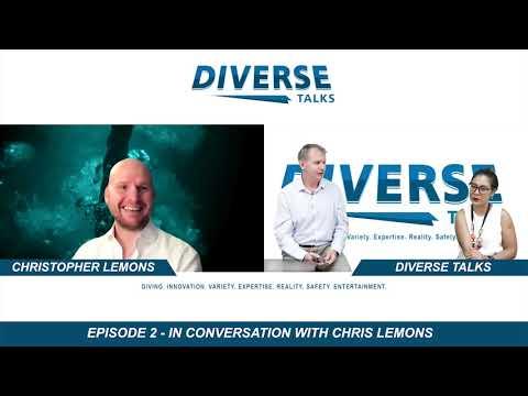 Ep#2 Chris Lemons - offshore SAT diver, public speaker, Netflix documentary star