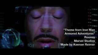 Iron Man: Armored Adventures (Live Action) Intro -Iron Man Tribute-