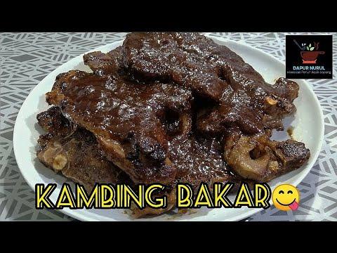 Resepi kambing bakar mudah sedap enak mantap - YouTube