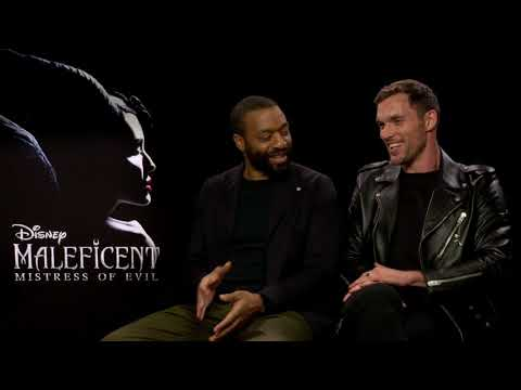 """Chiwetel Ejiofor And Ed Skrein Had A Great Time On """"Maleficent 2"""""""
