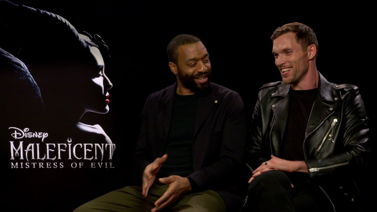 Chiwetel Ejiofor And Ed Skrein Had A Great Time On Maleficent 2