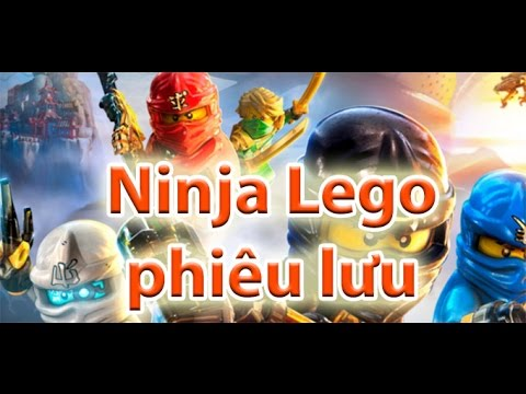 Ninja Lego phiêu lưu - ninjago dead land game 24H