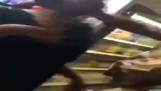 Grown Man Slaps Soul Out Of Teen Girl