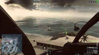 Battlefield 4 Playing with Scout Heli at TEST RANGE 1 of 3