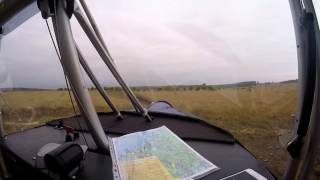 Congo Low level Ultralight Flight