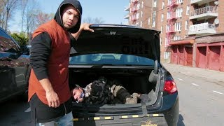 KIDNAPPED MAN IN THE TRUNK Experiment | DuoHK