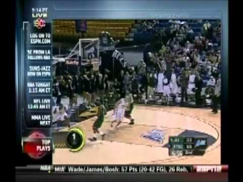 Justin Tubbs SportsCenter Play of the Day - Micah Williams in at #4 - 2/12/2011