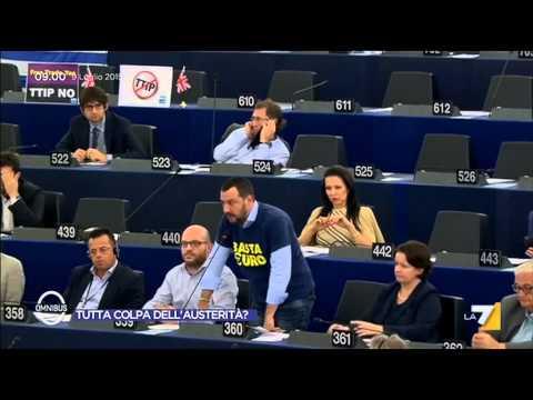 L'intervento Di Matteo Salvini Al Parlamento Europeo