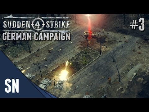 Battle #3: Battle of Stalingrad! - Sudden Strike 4 - German Campaign Gameplay