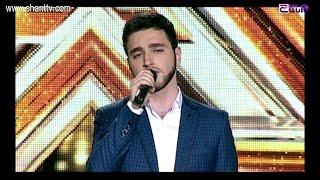 X Factor4 Armenia 4 Chair Challenge/Over 22's/Harutyun Hakobyan 15 01 2017