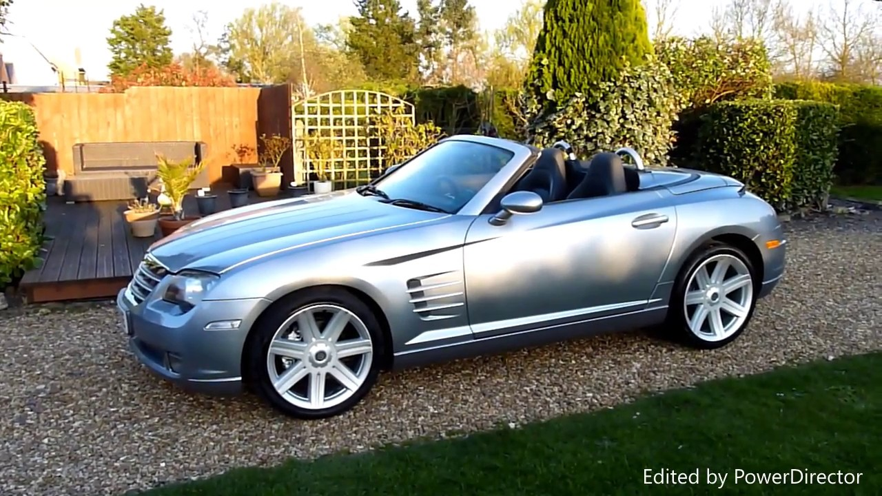 Video Review Of 2005 Chrysler Crossfire Convertible For