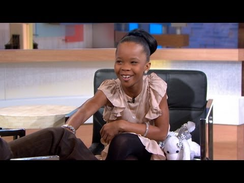 Little 'Beasts of the Southern Wild' Star Brings Big Personality  Quvenzhane Wallis
