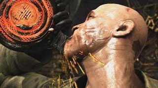 Mortal Kombat XL - Jason/Bo' Rai Cho Mesh Swap Intro, X Ray, Victory Pose, Fatalities, Brutalities