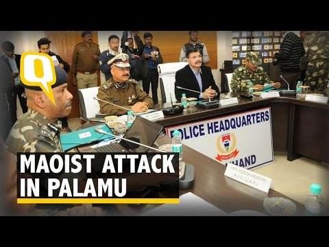 Palamu Maoist Attack: First Major Strike This Year