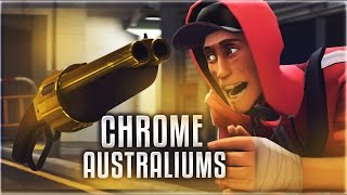 TF2 - How To Get CHROME/SILVER Australiums!