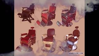 Парикмахерские профессиональные кресла