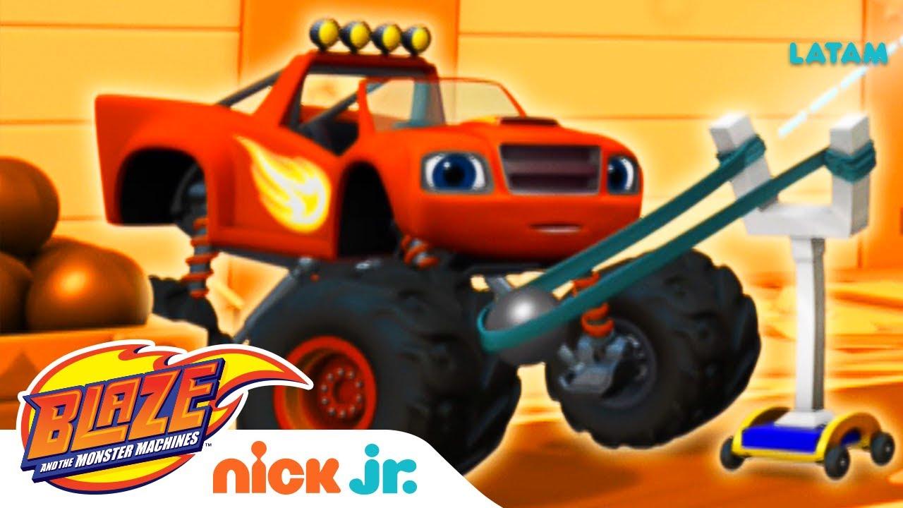 ¡Crusher pone en modo desastre a los Robot Pasteleros! 🤖 | Blaze and the Monster Machines