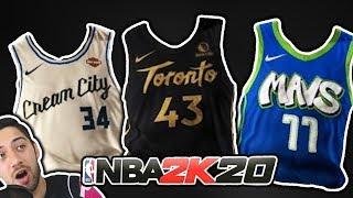 RANKING ALL 30 City Jerseys NBA 2K20 Update