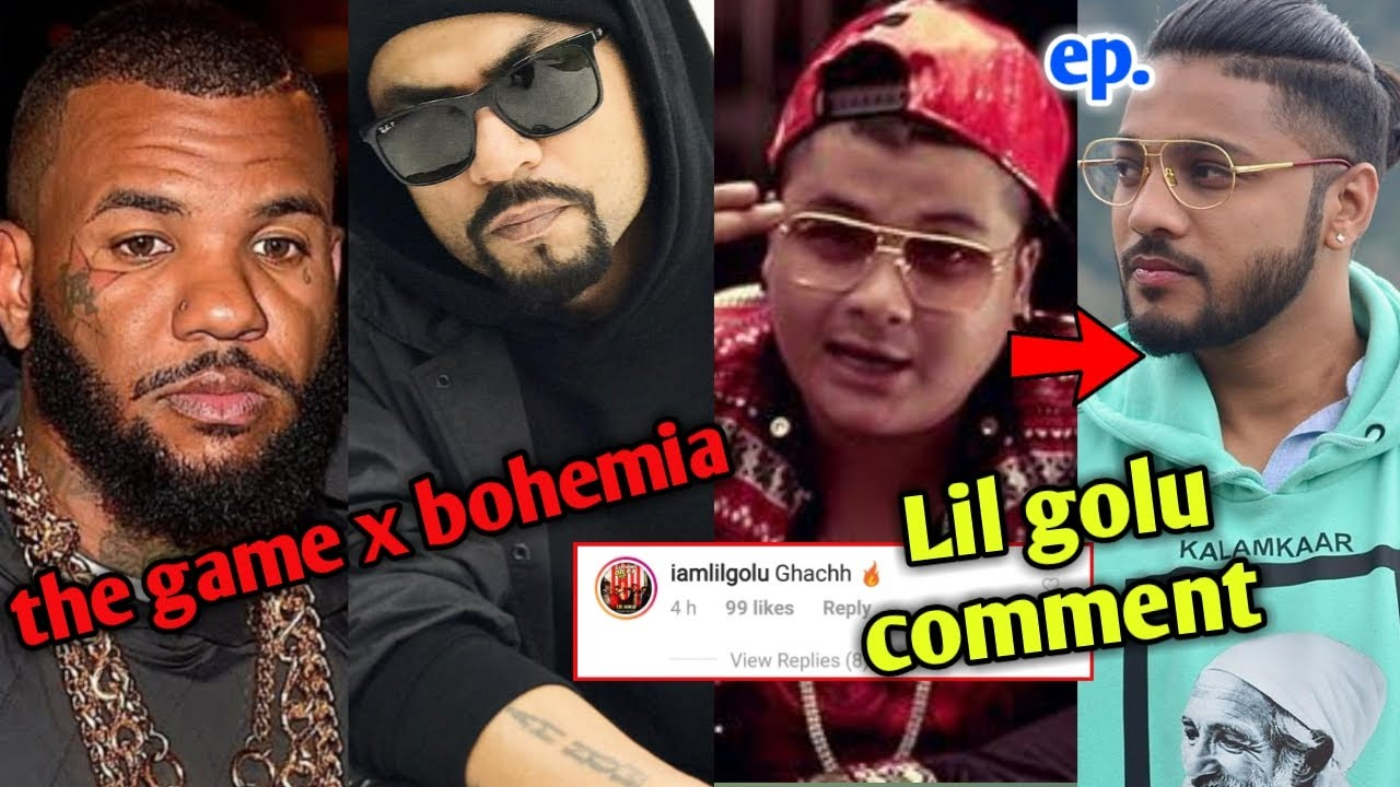 Lil golu commented on Raftaar's post ! Raftaar's Ep. | the Game x Bohemia Real soon