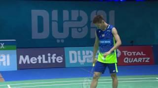 Dubai World Superseries Finals 2016 | Badminton Day 1 M4-MS | Son Wan Ho vs Lee Chong Wei
