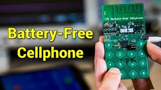Pil Devri Bitiyor Batarya Olmadan Çalışan Telefon İcat Edildi