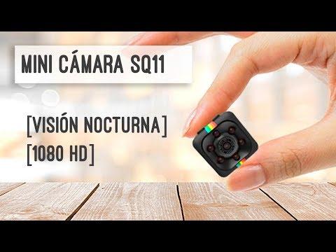 Mini Cámara Sq11 Hd 1080p Unboxing Y Prueba En Español Youtube