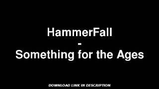 HammerFall - Something for the Ages W/ MP3 DOWNLOAD