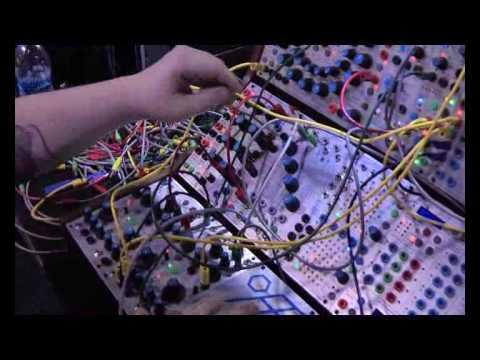 Buchla's mental modular synths