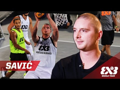 3x3's best kept secret Marko Savic - FIBA 3x3 World Tour