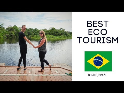 Her BEST Day In Bonito Brazil EcoTourism (Safari, Snorkeling, Ropes Course)