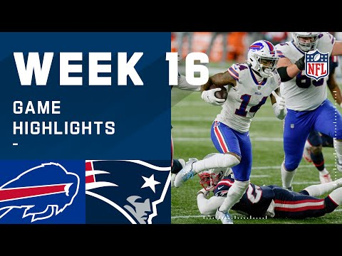 Bills vs. Patriots Week 16 Highlights | NFL 2020