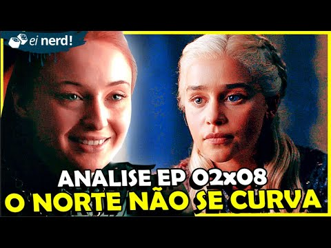 COMEÇA A SURGIR O PLANO DO REI DA NOITE - Game of Thrones EP 02x08