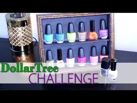 Dollar Tree Diy Challenge Fingernail Polish Display Stand