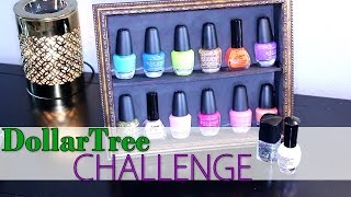 Dollar Tree Diy Challenge | Fingernail Polish Display Stand