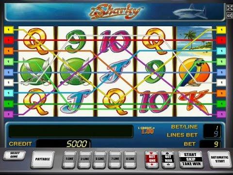 Игровой автомат Sharky - играть в слот Шарки