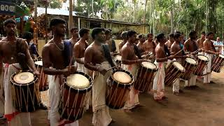 Incredible India- kerala chenda melam