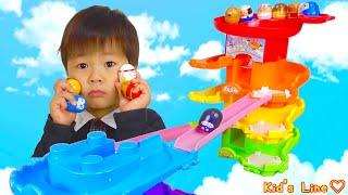 アンパンマン おおきなレインボータワー にぎやかコロロンだま セット おもちゃ Anpanman Toy thumbnail