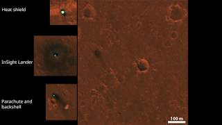InSight Lander seen by Mars Reconnaissance Orbiter HiRISE