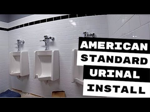 AMERICAN STANDARD URINAL INSTALLATION - YouTubeYouTube