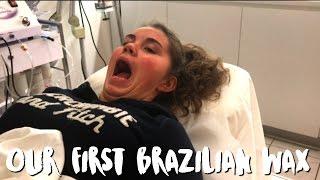 FIRST BRAZILIAN WAX EXPERIENCE | WARNING LANGUAGE