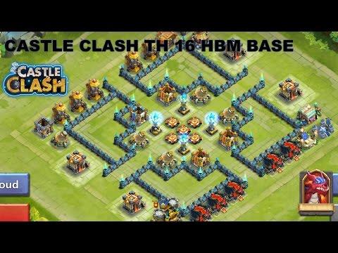 CASTLE CLASH TH 16 HBM BASE