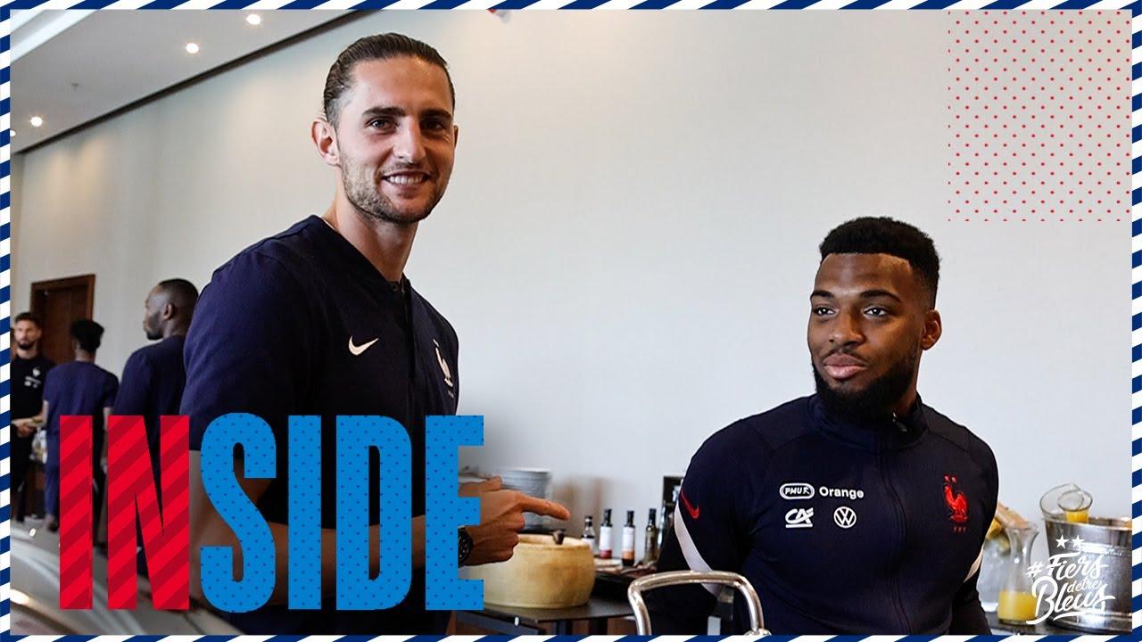 Un déjeuner avec les Bleus, Equipe de France I FFF 2021