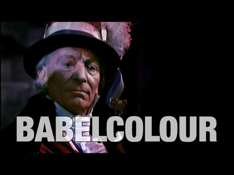 Colourised Doctor Who   1963 Trailer   Babelcolour