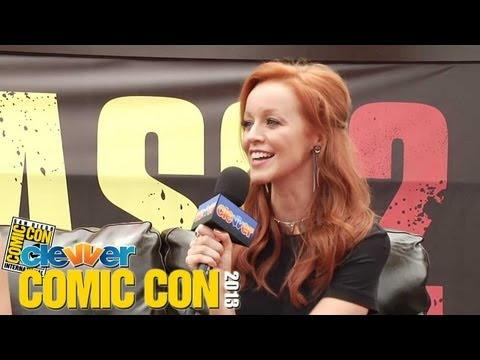 Lindy Booth Talks